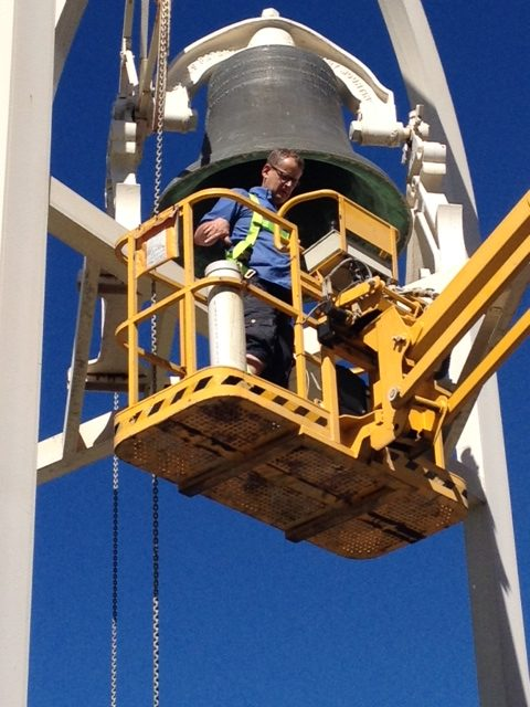 bell-works-in-rockhampton - Tower Clock Services Australia