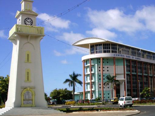 National Clock, Apia Samoa